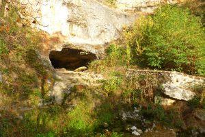 Cueva del Agua en Orbaneja del Castillo