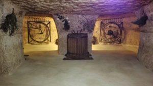 Interior de las Cuevas del Diablo