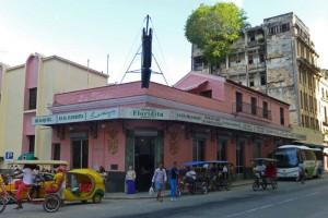 Bar Floridita en el corazón de la Habana Vieja