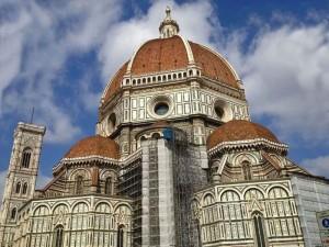 Cúpula de la Catedral de Florencia, una joya del Renacimiento italiano.
