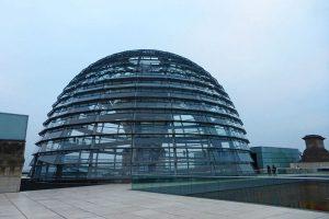 Cúpula del Edificio del Reichstag, uno de los lugares más visitados de Berlín