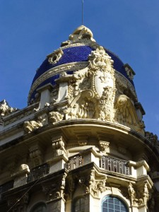 Cúpula de la Casa Cabot Jubany, casas nobles de Albacete