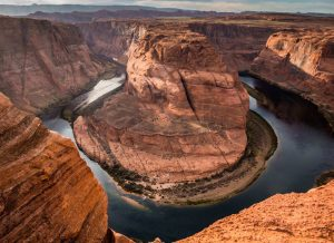 Curva de la Herradura en Glen Canyon National Recreation Area