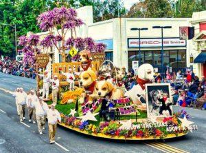 Desfile de las Rosas en Pasadena
