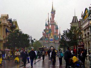 Parque Disneyland, una de las atracciones más visitadas de París