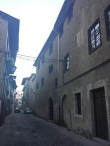Calle del Agua de Villafranca del Bierzo