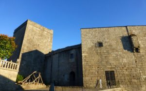 Entrada al Castillo de Castro Caldelas