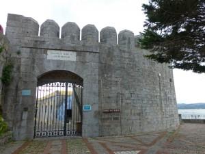 Entrada al Fuerte de San Martín en Santoña, hoy convertido en Centro Cultural