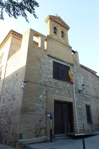 Entrada a la Sinagoga del Tránsito, sinagogas de Toledo