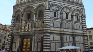 Puerta del Paraíso, una de las tres portadas del Baptisterio de Florencia