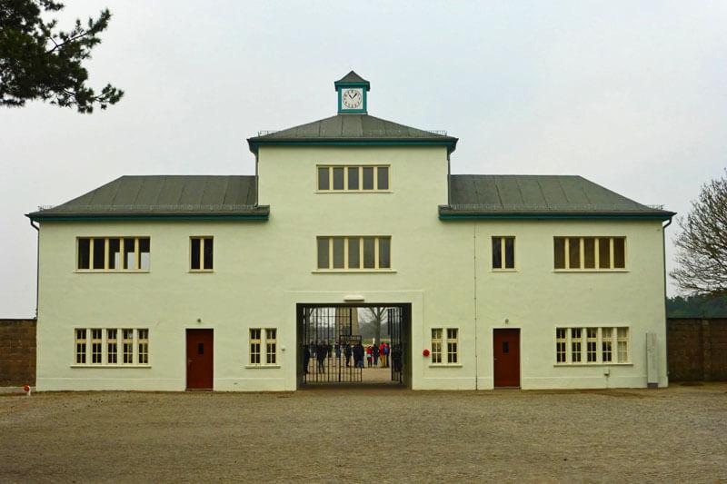 Entrada al Campo de Concentración de Sachsenhausen