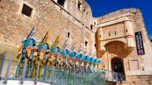 Entrada al Castillo de Garcimuñoz