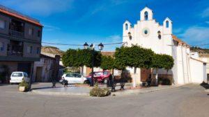 Ermita de San Roque en el Barrio de la Alfarería
