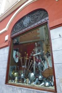 Espadería de Toledo, qué comprar en Toledo, souvenirs y productos típicos