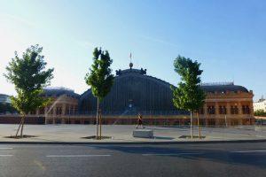 Estación de Atocha, el principal acceso ferroviario a la capital