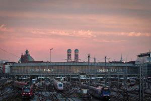 Hauptbahnhof, la estación de trenes más transitada de Múnich