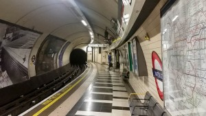 Estación de metro Waterllo en Londres, cómo moverse por Londres