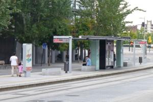 Parada del tranvía de Zaragoza, cómo moverse por Zaragoza