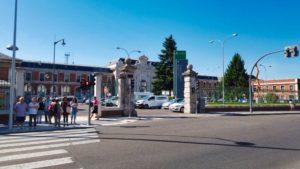Estación Norte, hasta se puede llegar a Valladolid en tren