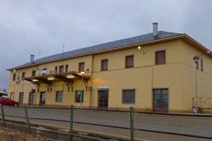 Estación de trenes de Soria, transporte de Soria