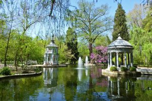Estanque Chinesco, uno de los principales atractivos del Jardín del Príncipe