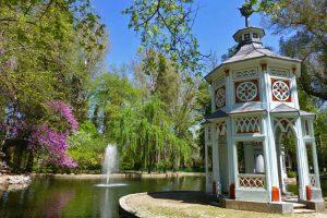 Estanque chinesco en el Jardín del Príncipe de Aranjuez