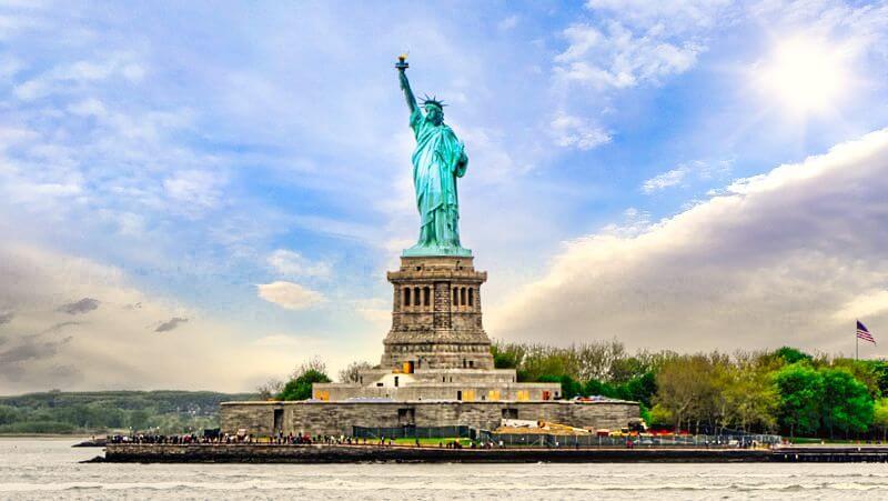 Estatua de la Libertad es el monumento más emblemático de Nueva York
