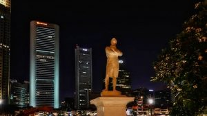 Sir Thomas Stamford Raffles, fundador de Singapur