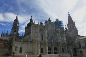 Fachada de la Azabachería de la Catedral de Santiago