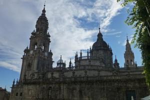Fachada de la Quintana de la Catedral de Santiago