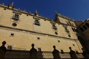 Fachada lateral de la Catedral de Jaén