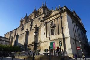 Fachada posterior de la Catedral de Jaén
