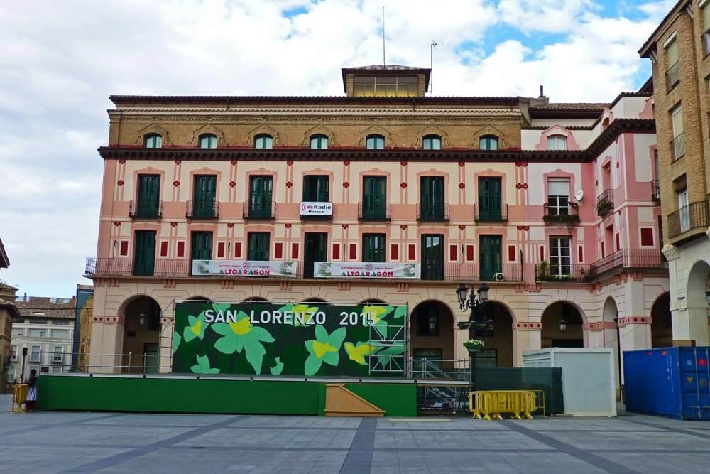 Transporte de Huesca