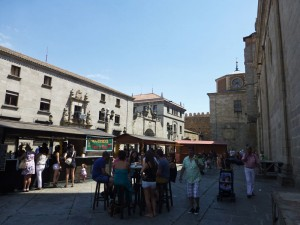 Los alrededores de la Catedral acogen las principales fiestas de Ávila