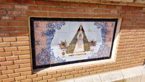 Cerámica en honor de la Inmaculada Concepción