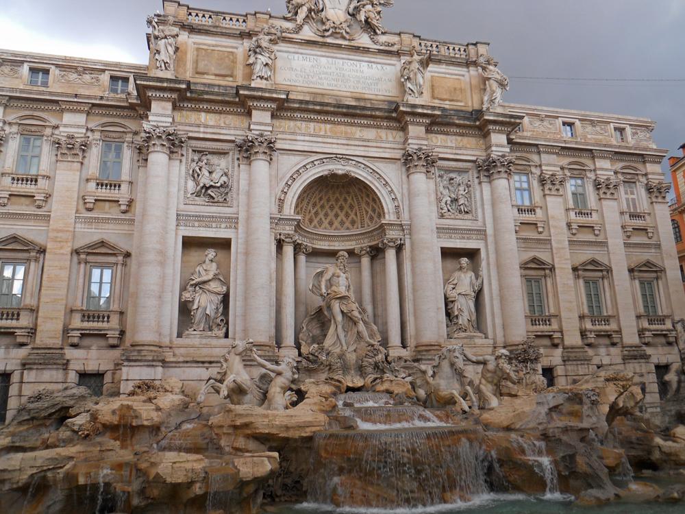 Plaza de Trevi en Roma