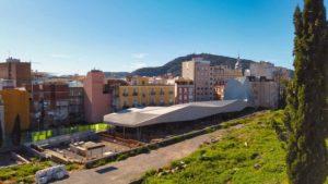 Barrio del Foro Romano en el Parque Arqueológico Cerro del Molinete