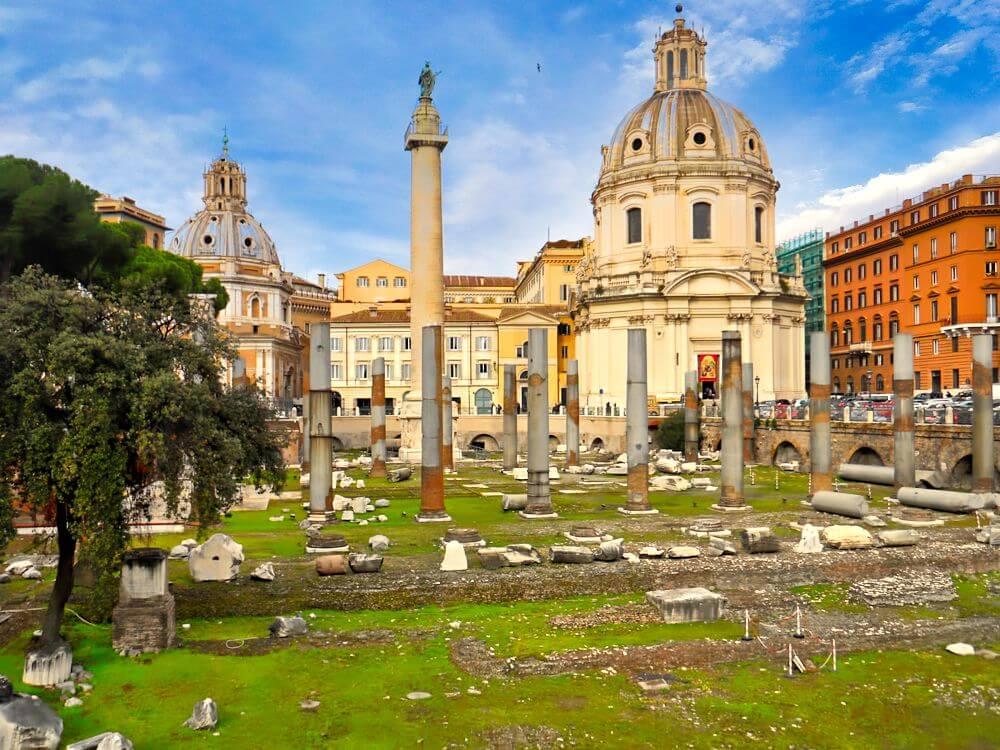 Foros Imperiales, una de las más famosas ruinas de la Antigua Roma