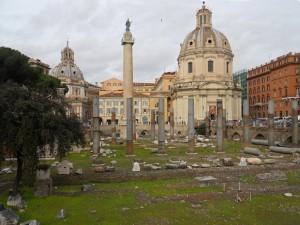 Foro y Columna de Trajano en los Foros Imperiales