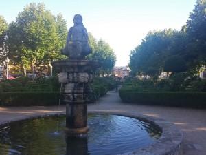"""Fuente """"la Chata"""" en La Alameda en Villafranca del Bierzo"""