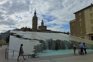 Fuente de la Hispanidad en la Plaza del Pilar