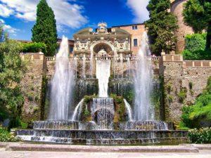 Fuente de Neptuno y Fuente del Órgano en la Villa del Este