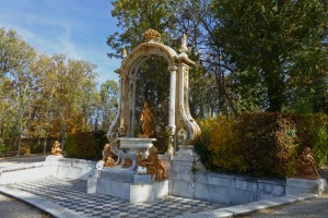 Fuente de las Ocho Calles en el Palacio Real de La Granja de San Ildefonso