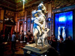 """""""El rapto de Proserpina"""" de Bernini en la Galería Borghese"""