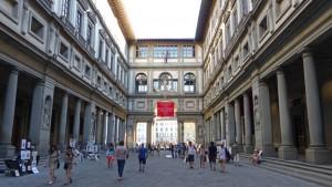 Galería de los Uffizi, el museo de arte más importante de Florencia