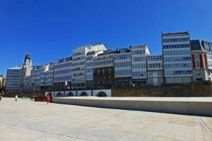 Galerías de La Coruña, el mayor conjunto acristalado del mundo