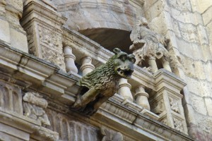 Gárgola del Ayuntamiento de Astorga