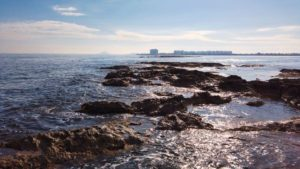 Paso natural del agua entre el Mar Mediterráneo y el Mar Menor