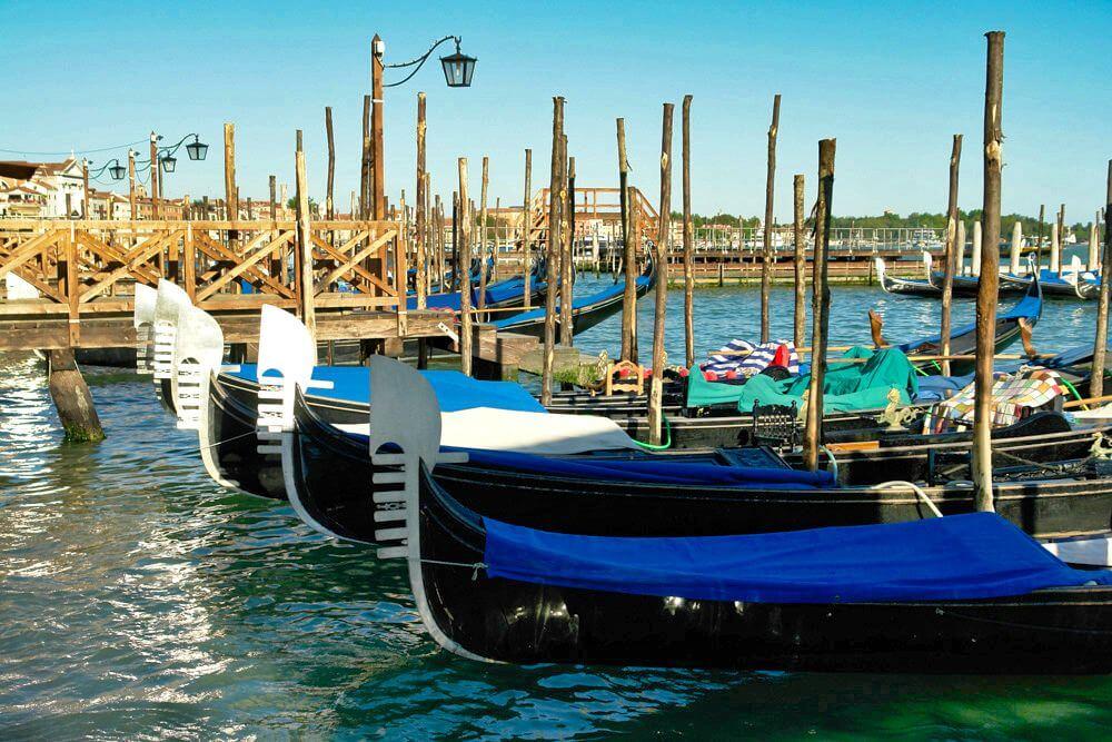 Tarjetas turísticas de Venecia