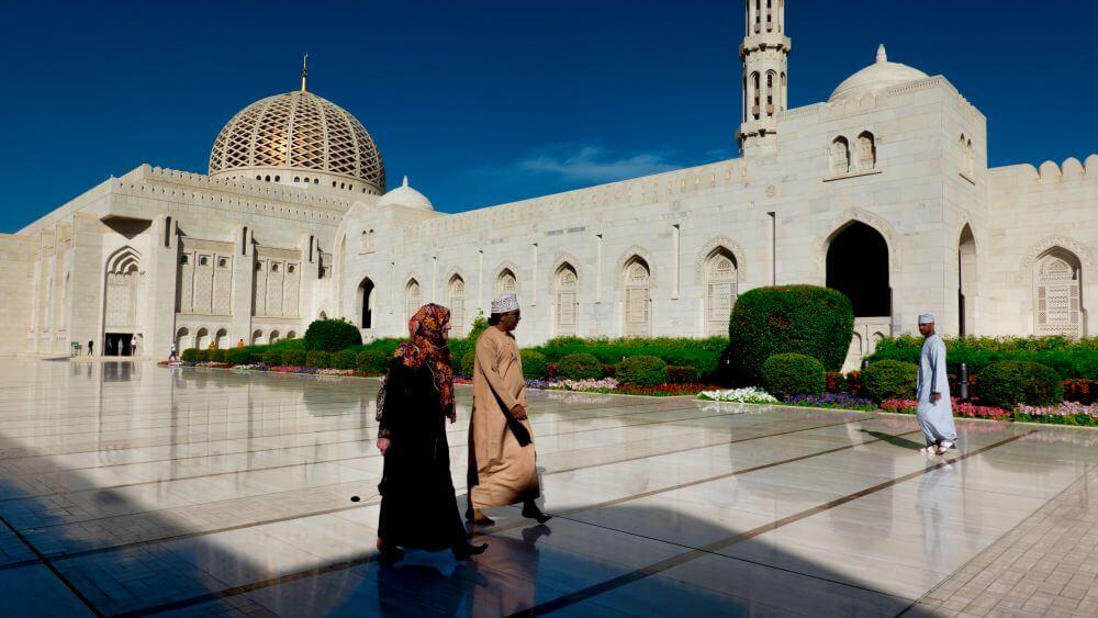 Gran Mezquita del Sultán Qaboos en Mascate